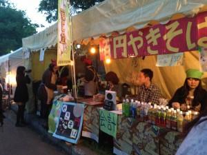 HyakuenYakisoba in Hokudaisai 2013
